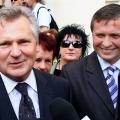Wizyta Prezydenta Kwasniewskiego w Gnieznie