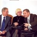 Z Senatorem Gruszczynskim i jego zona