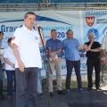 Otwarcie zawodów pływackich w Lednicy w obecności Prezesa PKOL Andzeja Kraśnickiego!