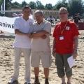 Z organizatorami Pilki Plazowej w Skorzecinie