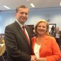 Wspolnie z nowa Przewodniczaca Krajowej Komisji Rewizyjnej SLD Jolanta Danielak z Zielonej Gory