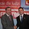 Z Mikolajem podczas startu kampanii 2007