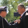 Złoty Medal za Zasługi dla Pożarnictwa dla dh Eugeniusza Zamiara