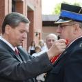Podczas mianowania nowego Komendanta Strazy Pozarnej w Gnieznie