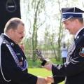 Wręczenie nagrody dla Strażaka Roku 2012 - Mariana Guziałka