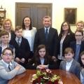 Wizyta młodzieży  w Warszawie
