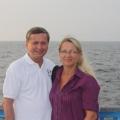 Z żoną na wakacjach