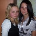Corka Ania i Monika - chrzesniaczka Posla